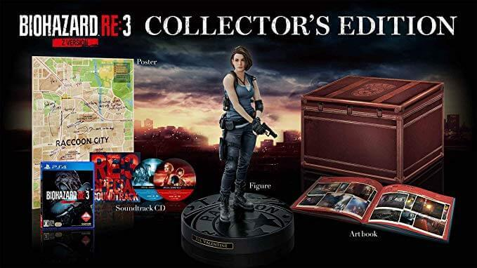 Comprar edición coleccionista RE3 Remake